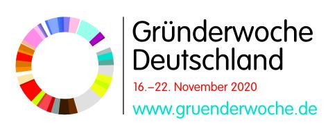Gründerwoche Deutschland 16. - 22. November 2020