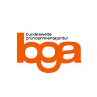 logo bga bundesweite gründerinnenagentur